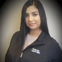 Melissa Cazares at Arlington Heights Ford
