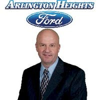 Steve Ursin at Arlington Heights Ford