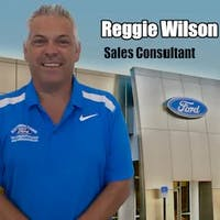 Reggie Wilson at Matthews-Currie Ford Co.