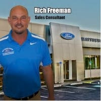 Rich Freeman at Matthews-Currie Ford Co.