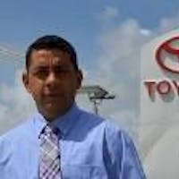 Rafael Montilla at South Dade Toyota