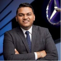 Sheik Nabijian at Mercedes-Benz Manhattan