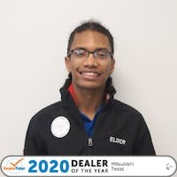 JJ Johnson at Elder Mitsubishi