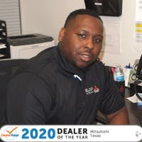 Aaron Brown at Elder Mitsubishi