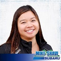 Jamie  Chu at Mike Shaw Subaru