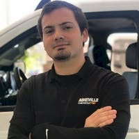 Joey  Roussel at Asheville Chevrolet