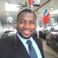 Shondell Martin at Queens Auto Mall Auction House