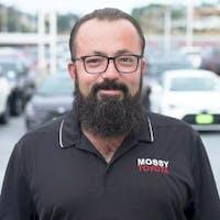 Naim Mostaghim at Mossy Toyota