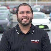 Juan Carlos Lopez at Mossy Toyota