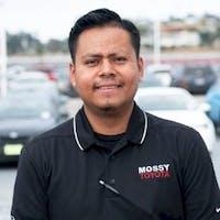 Arturo Herrera at Mossy Toyota