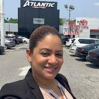 Lina Santana at Atlantic Toyota
