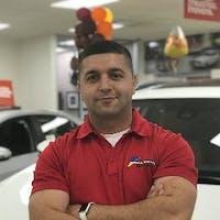 Adem Geduk at Atlantic Toyota