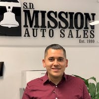 Daniel  Ramirez  at SD Mission Auto Sales