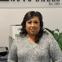 Lupe  Farias at SD Mission Auto Sales