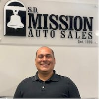 Jorge  Lopez  at SD Mission Auto Sales