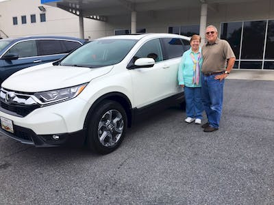 We Have Been Driving Our New Honda CRV EX L With Navigation For 10 Days And  It Is Living Up To All The Expectations Our Salesman John Williams At  Hagerstown ...