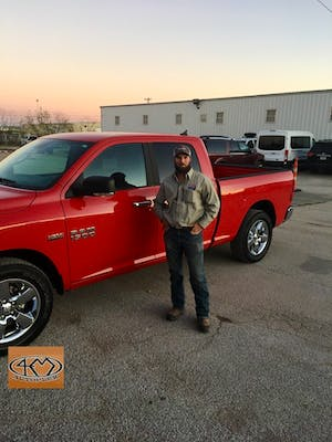 Kyle helped me out and got me the truck and paperwork done quick. Great guys at 4m and would recommend to anyone. Service was outstanding!