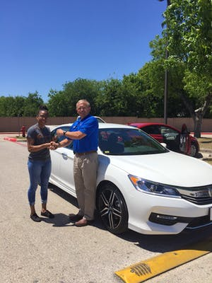 Michael Lents Was The Salesman That Helped Me Drive Home In My Brand New  2017 Honda Accord Sport And I Would Recommend To Everyone To Work With Him  If ...