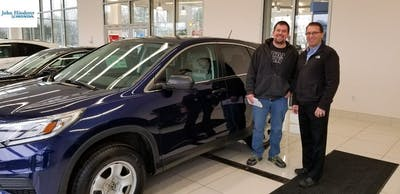 Ron Strong Was Absolutely Amazing And Thorough Jim Brown Brilliantly Walked Us Through The Financing Process John Hinderer Honda Is Best Place To