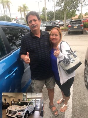 Today We Took Advantage Of A Special Offer And Walked Out Wit A Beautiful  Brand New Car From Coconut Creek Hyundai. Our Salesperson Treated Us Like  Family ...