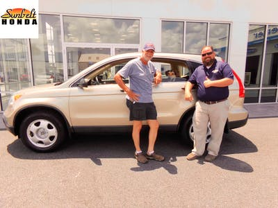 Superb Thank You Ray And The Other Team Members That Sunbelt Honda Iu0027m Very  Pleased With My CRV Bigfoot Enjoys Riding In The Back I Think This Car Will  Meet All My ...