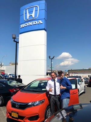 He Was The Opposite Of Pushy; He Was Pleasant And Extremely Knowledgeable  And Helpful. He Helped Us Get A Great Deal On A New Honda Fit.