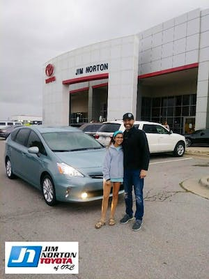 ... Toyota Prius V Five, And Our Experience Was Fantastic. Working With  Rachid Was Very Easy And Smooth. I Would Recommend Rachid And Jim Norton  Toyota!