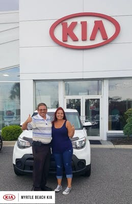 Wes Landreth Was An Amazing, And Made Sure I Was Not Only Happy With My Car  But Also Comfortable Money Wise! Will Definitely Return To Myrtle Beach Kia  For ...