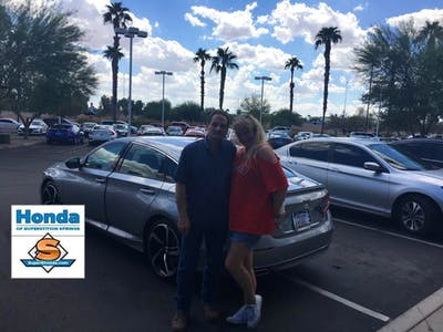 I Would Like To Say That Superstition Springs Honda Has Been My Go To Place  To Buy A Car In The Past 5 Years. The Salesman Are Friendly And Helpful  Finance ...