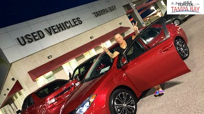 WHEN TO SEE CARS NEVER TOUGH I Was GOING TO COME HOME WITH A 2016 TOYOTA!!!AIMEE  THE SALES PERSON WAS AMAZING!!!THE PERSONAL OF TOYOTA OF TAMPA BAY WAS ALSO  ...