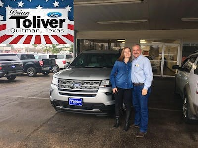Brian Toliver Ford >> Brian Toliver Ford Of Quitman Ford Service Center Dealership