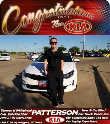 This Was My Second Time Buying From Patterson Kia, And For The Second Time  In A Row, Iu0027m 100% Satisfied With My Experience.