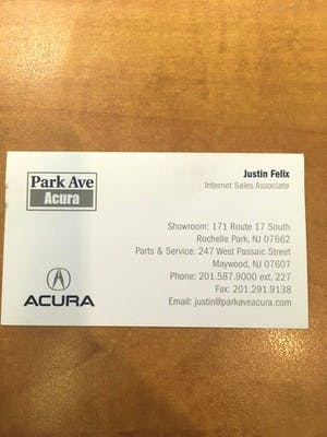 Tony Goncalves Employee Ratings DealerRatercom - Park ave acura parts