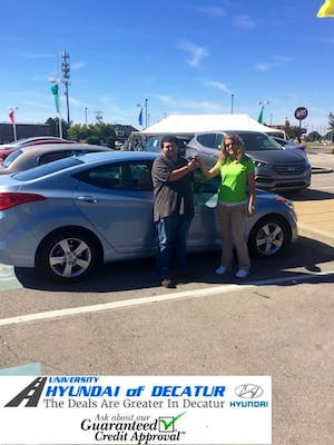 Natalie Rochester, From The Hyundai Place Was Exceptional She Was Able To  Do Things That None Of The Other Dealerships In The City Would Do.