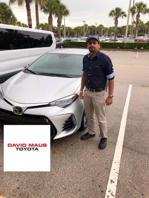 At David Maus Toyota I Was Dealing With Mahmood Who Went Above And Beyond.  After Test Driving Several Cars, When I Was Ready To Buy Not Only Did He  Offer Me ...