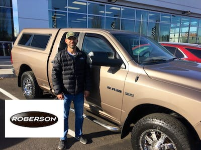 Great customer service.at Roberson Motors. Mark Whittington are salesman was friendly,honest and knowledgeable about the Dodge Ram I was looking at.